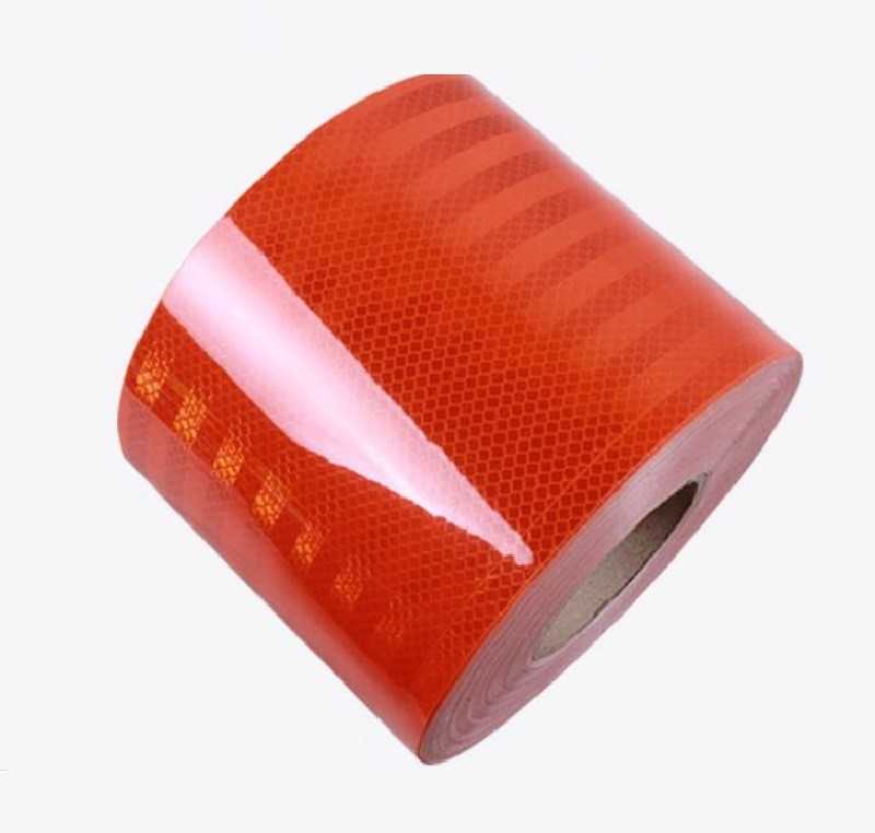 15CM Ultrastrong Self-Adhesive PET Reflective Warning Safety Tape Truck Road Traffic Construction Site Floor Wall Warning Strip