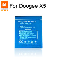 100 IST Original Mobile Phone Battery For Doogee X5 X5S X5 Pro High Quality Replacement Battery