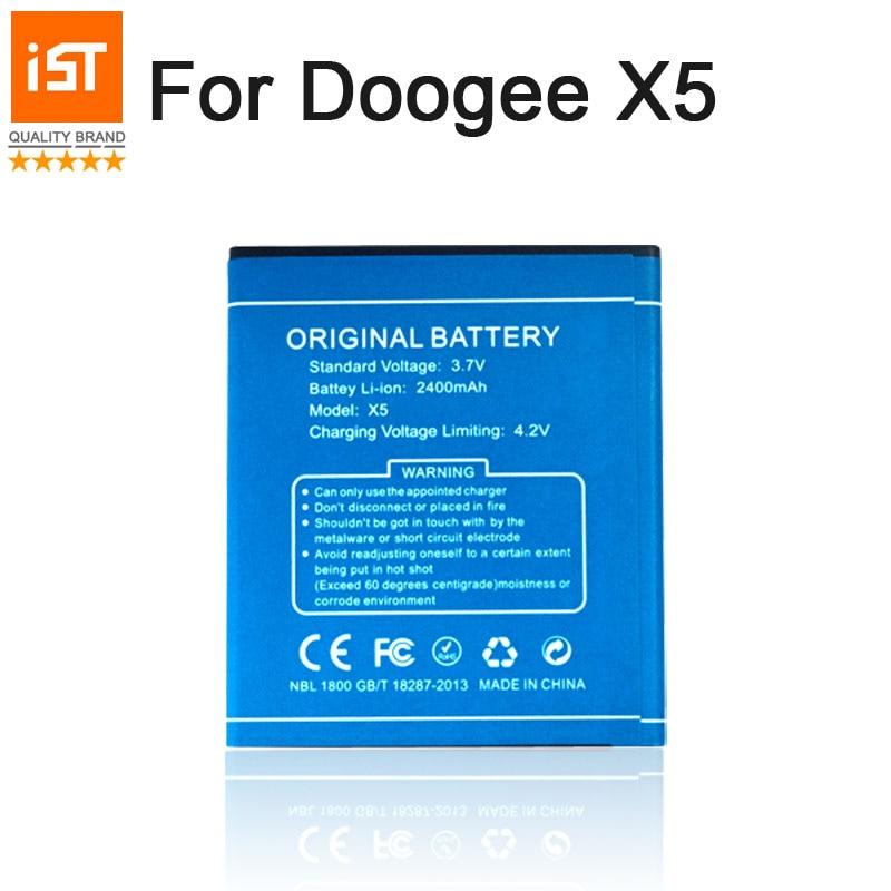 2107 Novo 100% X5S IST Bateria Do Telefone Móvel Original Para Doogee X5 X5 Pro Bateria de Substituição de Alta Qualidade Com Presente