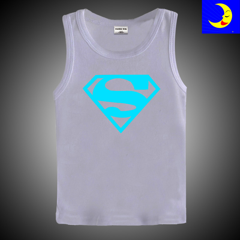 DMDM PIG 100% Cotton Luminous Baby Tops Cartoon Boys T Shirt Toddler Clothes Girls Sleveless T-Shirts Kids Tee Children Clothing 2017 children clothes kids t shirts adventure time 100% cotton white t shirt for boys and girls tops baby tshirt free shipping
