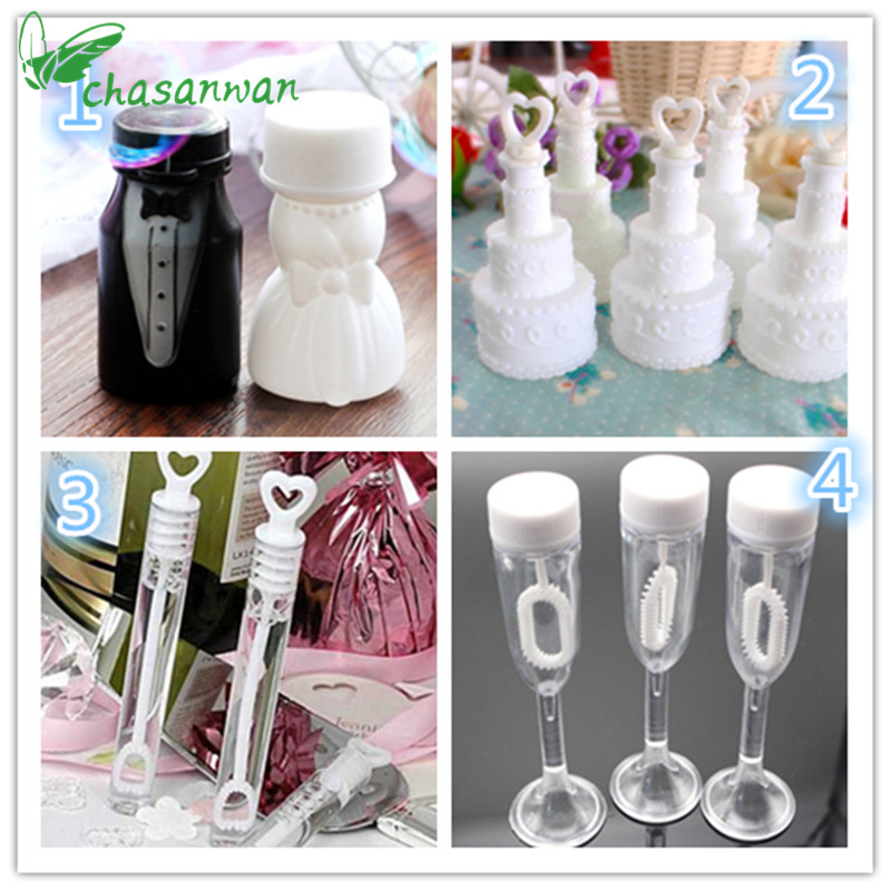 10 Pcs Empty Bubble Soap Bottle Wedding Decorations Mariage Boda Birthday Party Wedding Favors and Gifts Baby Shower Kids Toys.Q