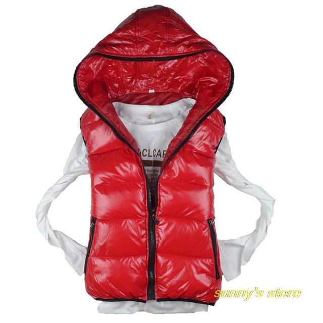 Hot Sale hot  fashion autumn and winter female vest down cotton vest women's with a hood vest,