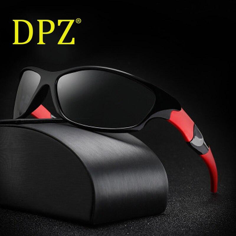 2018 Dpz Neue Luxus Marken Goggles Sport Polarisierte Männer Pc Rahmen Driving Gafas De Sol Outdoor Uv400 Männliche Sonnenbrille Frauen Outdoor