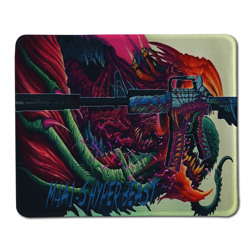 New Large Pad to Mmouse Notbook Computer Lock Edge Mousepad Hyper Beast Gaming Mouse Pads for gamer