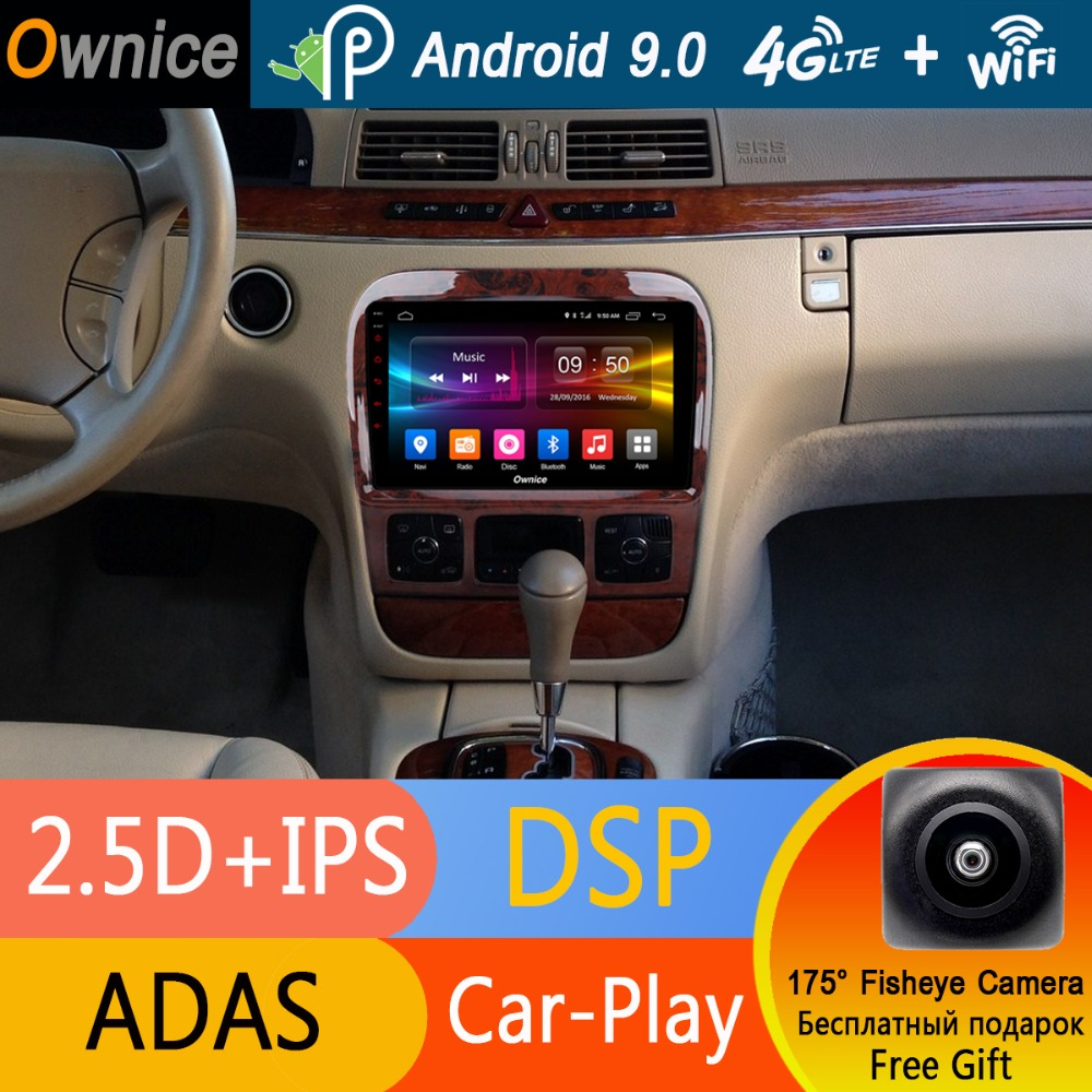 Android Gps Radio Cl-Class Carplay W215 W220 Mercedes-Benz S320 Dvd-Player Octa-Core