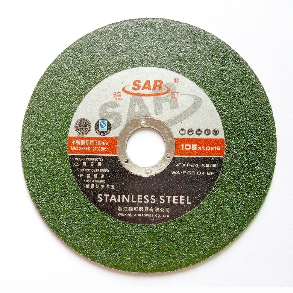 100mm stainless steel sanding cutting wheel metal sheet cutting disc dremel angle grinder rotary tool slitting knife for cutting stainless steel sheet