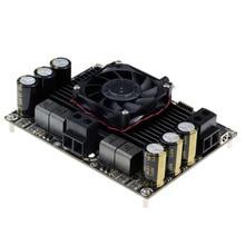 D class T AMP דיגיטלי אודיו מגבר כוח לוח גדול כוח כבד בס 1000 W סיים לוח חום יחיד ערוץ