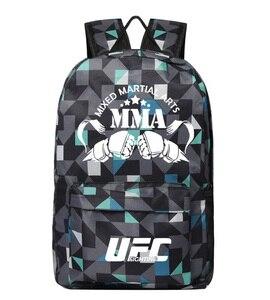 Image 3 - MMA バックパックボックス ing ショルダー UFC メモリギフト友人のためのデイパック 2020 ファッションバッグ