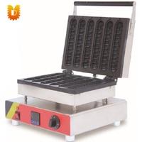 Digital hot dog machine/6 PCS hot dog making machine