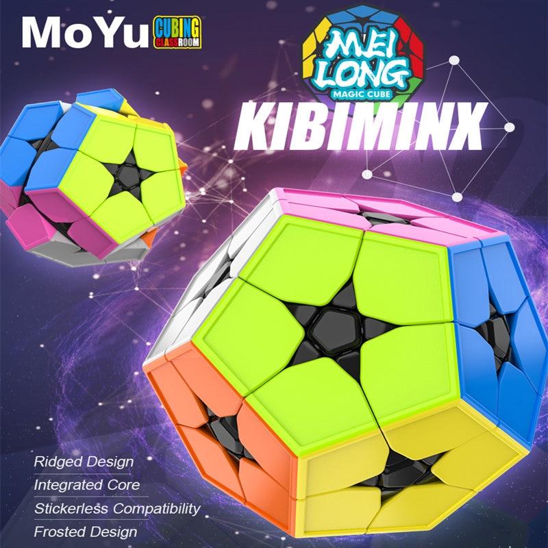 Meilong Kibiminx Dodecahedron Puzzles Cube 2X2 Megaminx Cube de vitesse WCA Cube magique jouet pour enfants jouet cadeau