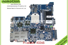 628619-001 Laptop Motherboard for HP Compaq Probook 4326S AMD with ATI Mobility Radeon HD 6370 DDR3 Mainboard
