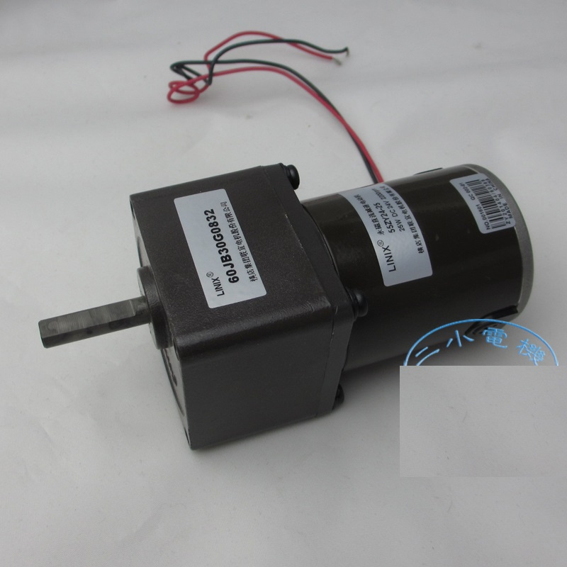 Deceleration DC Motor LINIX Motor DC Gear Motor 55ZY24-25/60JB30G0832 new original jonathan mann aids in the world paper