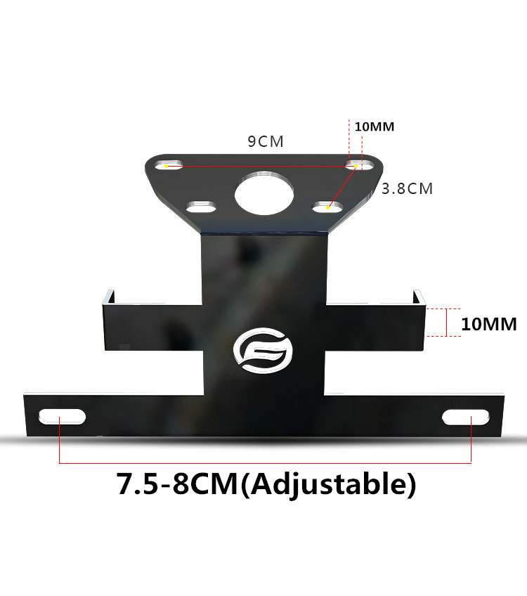 Image 4 - Motorcycle accessories Registration Plate Holder For CFMOTO NK 400 650-in License Plate from Automobiles & Motorcycles