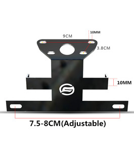 Image 4 - Motorcycle accessories Registration Plate Holder For CFMOTO NK 400 650