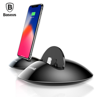 Baseus Phone Charger Charging Dock Station For IPhone X 8 7 6 6s Desktop Docking Station