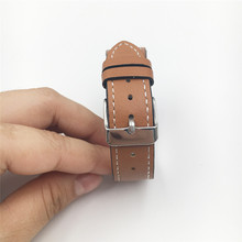 Leather Strap Smart Fitness Watch Band For Fitbit Smart Bracelet Replacement