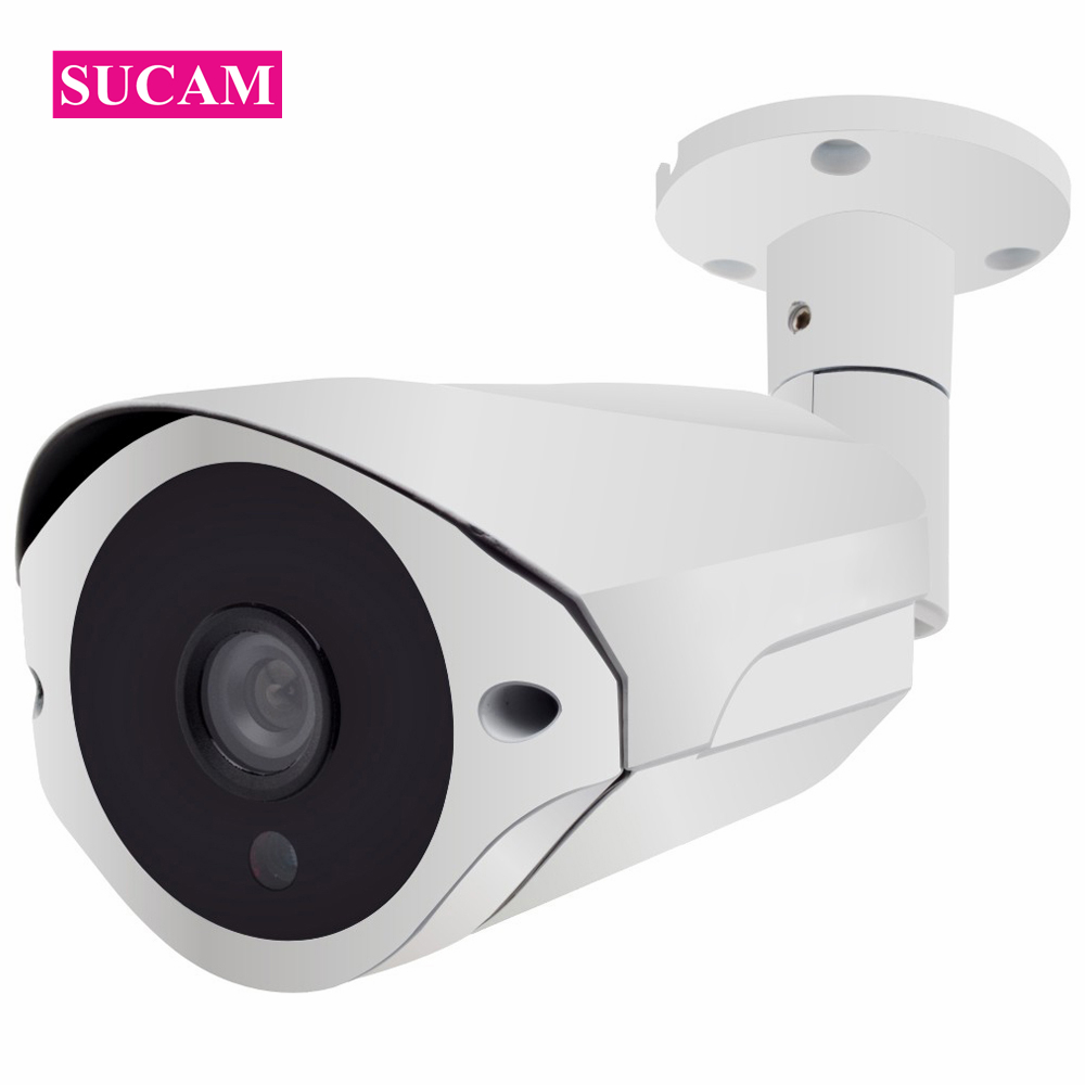 SUCAM 4MP Full HD CCTV 36 IR LED Light Night Vision Metal Infrared Outdoor Waterproof Bullet Surveillance Security AHD Camera sucam 1 0mp home ahd security camera 720p 20 meters ir nano led light infrared ir surveillance camera pal ntsc easy installtion