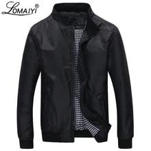 LOMAIYI тонкая мужская Весенняя/Осенняя куртка мужская деловая куртка Мужская s ветровка мужская черная повседневная куртка мужская плюс размер BM041