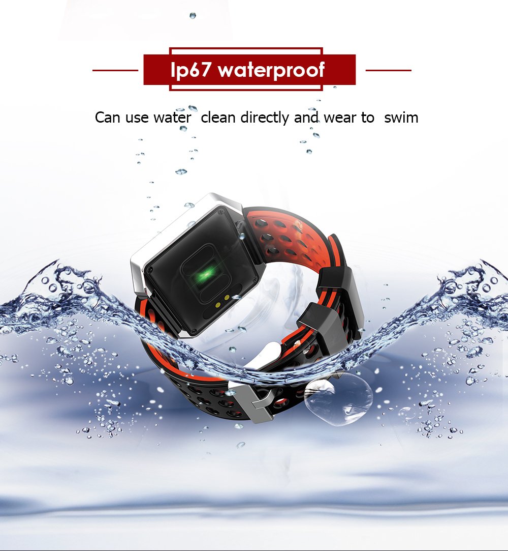 MOCRUX CK12 Smartwatch IP67 Waterproof Wearable Device Bluetooth Pedometer Heart Rate Monitor Smart Watch For AndroidIOS (8)