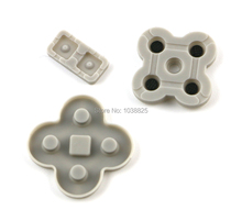 50sets/lot High Quality Conductive Rubber Pads Replacement for DS Lite for NDSL Game Console