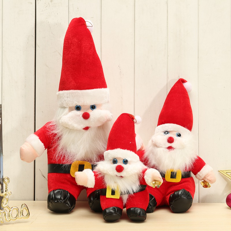 New Arrival Christmas Santa Claus Doll Gift Present Tree Hanging Ornament Home Decoration Christmas Gift Baby Playpens
