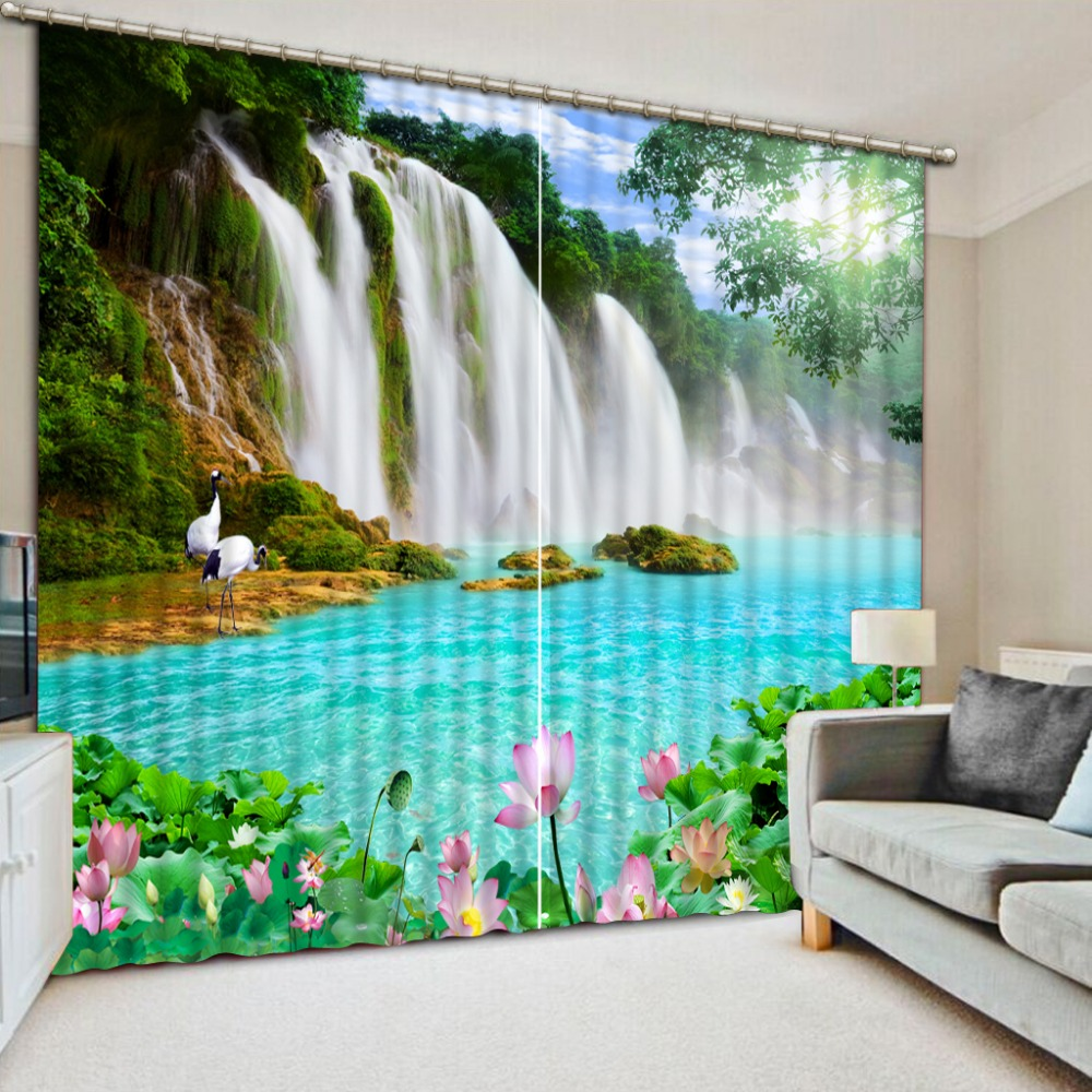 curtains 3d for living room Classic Home Decor bedroom ...