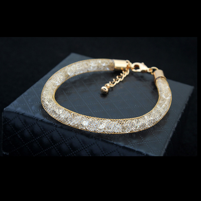 e2887dd6d7 MALANDA New Design Lap Magic Bag Metal Bracelets For Women Real Crystal  From Swarovski Fashion Bangle Weddings Jewelry Girl Gift