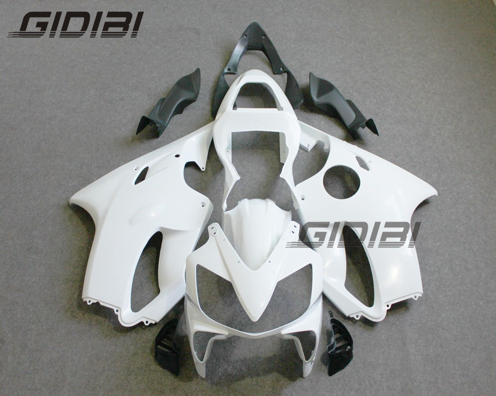 Pour HONDA CBR600F CBR 600 F CBR600 F F4i 2001-2003 moto non peint carénage carrosserie travail capot ABS 01 02 03