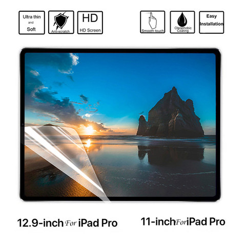 4Pcs HD Protector Film For iPad PRO Ultra Clear PET HD Soft Film Screen Protectors Film For iPad PRO 2018 11/12.9 inch Karachi