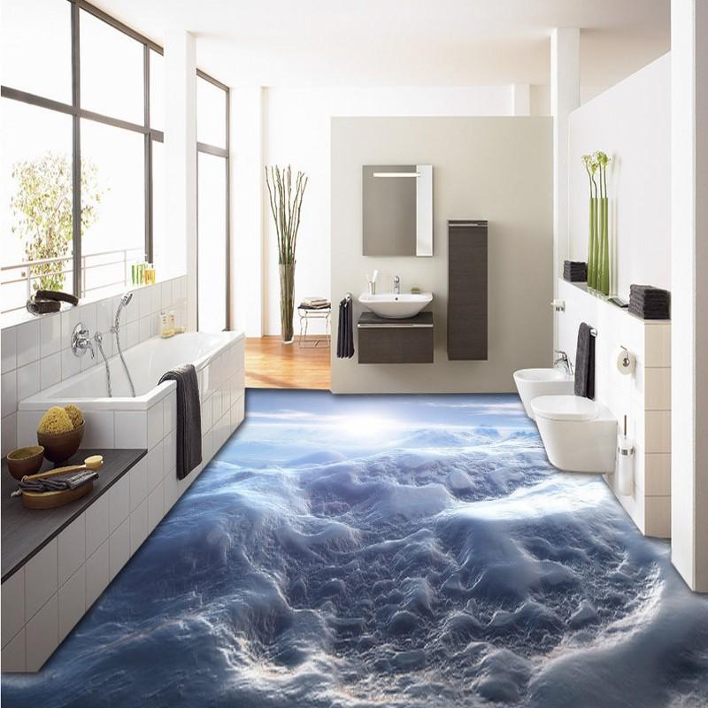 el envo libre de pasillo dormitorio cocina pisos pintura hermoso cielo suelo pvc wallpaper mural