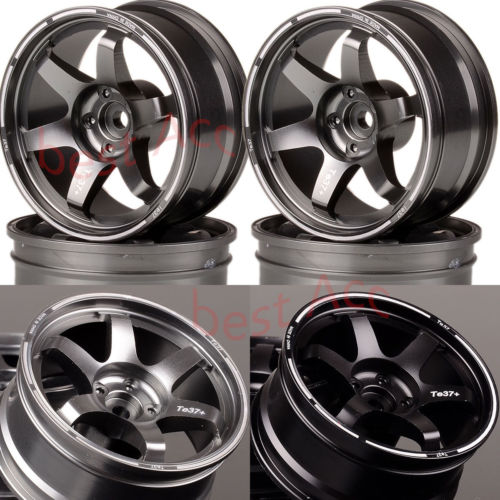 Traxxas HPI HSP 4P Aluminum 9MM Offset Wheel Rim 1072 For RC 1/10 On-Road Drift