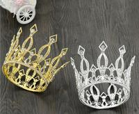 New Design Full Circle Bridal Crown Princess Hair Tiara Ladies Hairwear Hot Sale