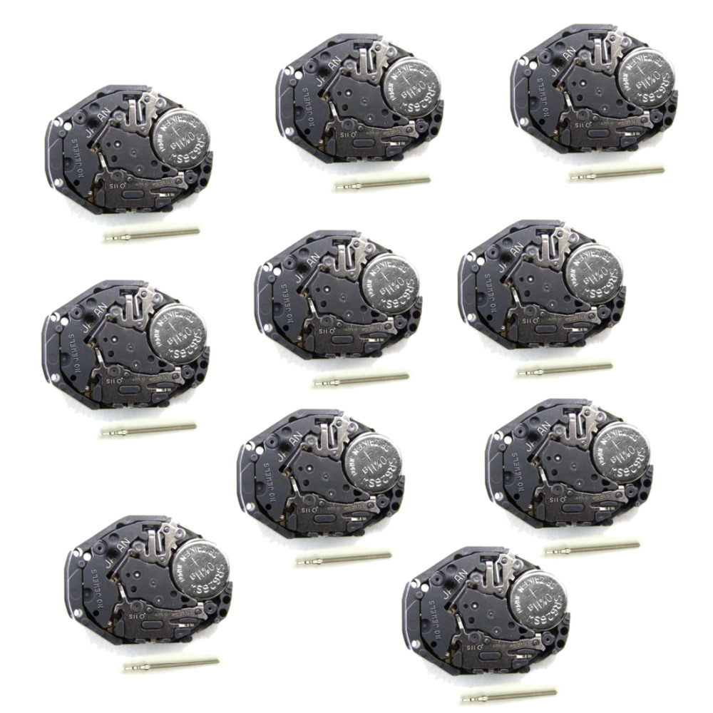 Wholesale Lot 10PCS. .New Japan PC21J Quartz Watch Movement BATTERY INCLUDED Replace Repair | Fotoflaco.net