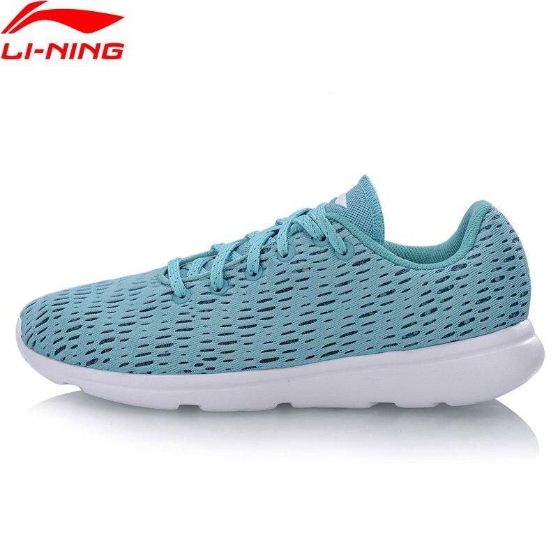 Li-ning femmes E-RUN chaussures de course respirant léger doublure confort Fitness Sport chaussures baskets ARBN078 XYP679
