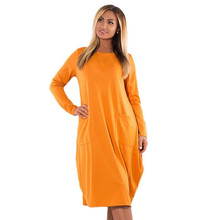 2018 Plus Size women dress 5XL 6XL Winter Dresses warm velvet Dress big casual loose Women Clothing Vestidos long sleeve female