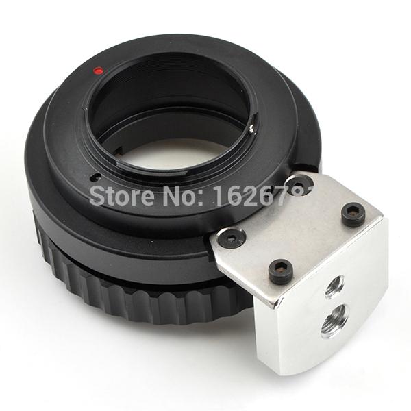 """Pixco Anel Adaptador com Tripé Terno Para B4 2/3 """"FUJINON CANON lente para micro 4/3 câmera G2 G3 E-P2 AF100 AF102 E-P3 epl1"""