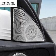 Автомобиль для укладки Дверь аудио Динамик декоративные полосы охватывает 3D наклейки Обрезать для Mercedes Benz C Class W205 авто аксессуары для интерьера