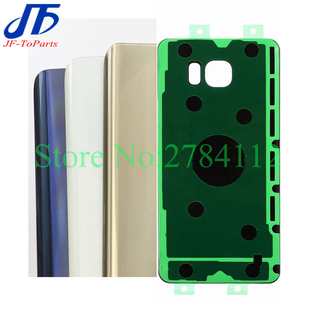 50Pcs Vietnam Replacement For Samsung Galaxy Note5 Note 5 N920 Back Battery Cover Glass Housing Case + Sticker + IMEI Print