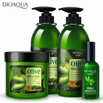 4 sztuk partia oliwkowy zestaw do pielęgnacji włosów przeciwłupieżowy szampon do włosów olejek loki Enhancer maska do włosów naprawy Frizz dla suchych zniszczonych włosów tanie i dobre opinie NoEnName_Null Unisex CN (pochodzenie) Olive Hair Care Sets 4 Bottles Olive Extract 400g+400g+500g+50ml 3 Years Anti-Dandruff Improve Itchy Scalp Oil-control Nourishing Freshing