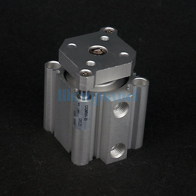 CDQMB50-20 Compact Cylinder Bore 50mm Stroke 20mm Guide Rod Double Acting Built-in Magnet SMC Type built in magnet double acting guide rod cdqmb100 30 compact cylinder bore 100mm stroke 30mm