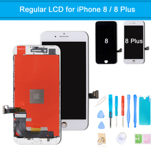 LCD Display for iPhone 8 Plus Touch Screen Display Digitizer Assembly for iPhone 8 Screen Replacement With Frame + Repair Tools new arrvial hotsale lcd display touch glass digitizer assembly 4 7inch screen with frame replacement for apple iphone 6