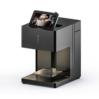 lxhcoody Art Coffee Drinks Inkjet Printer Art Beverages Food Selfie Latte Coffee Fully Automatic Printer With WIFI Connection