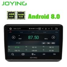 JOYING Màn hình IPS 10.1 inch RAM 4 GB ROM 64 GB Octa Core Android 8.0 DVD Xe Hơi stereo GPS đa phương tiện cho Xe Honda Vezel/HR-V/XRV