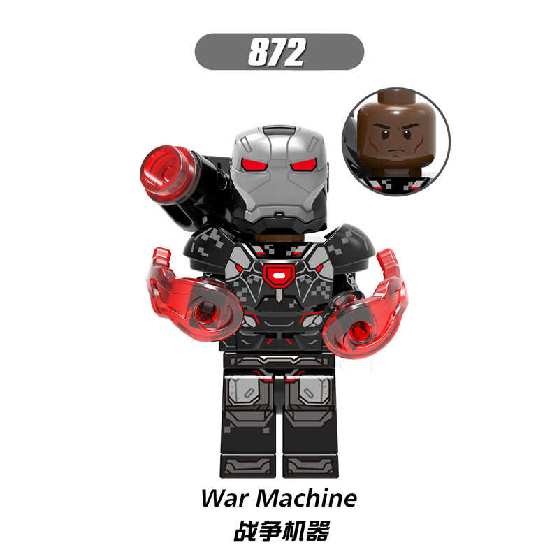 X0193 LegoINGly Marvel Ant Avengers Captain Super Hero Iron Man Hulk Black Panther Man Wasp Building Blocks Toy For Children Set