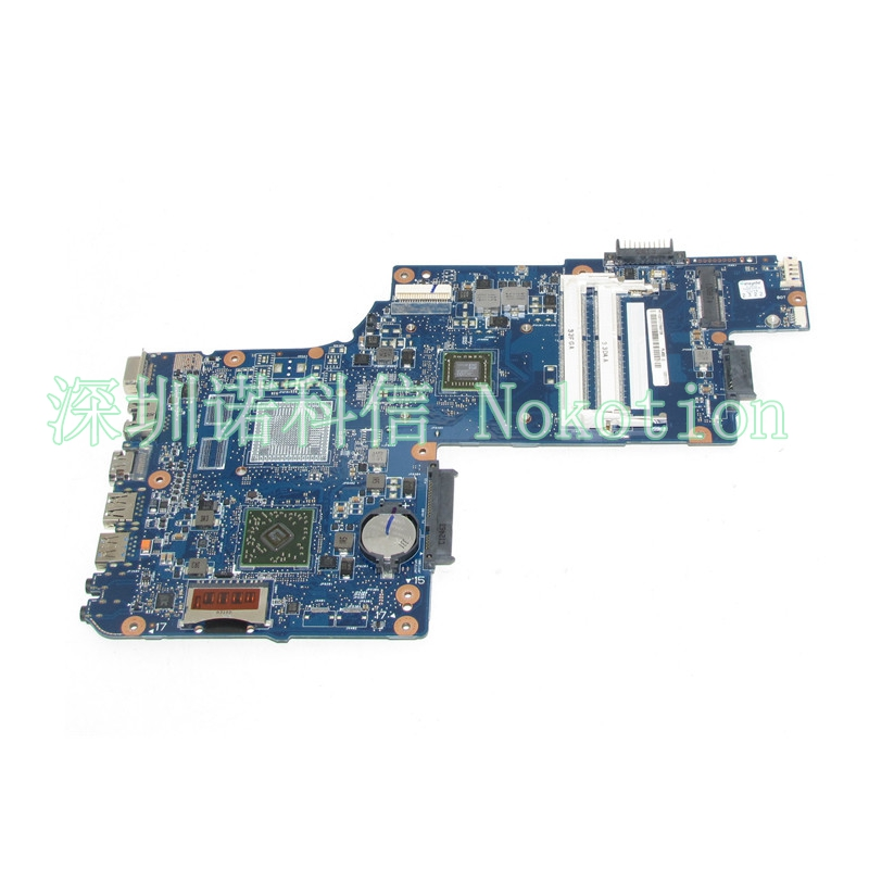 NOKOTION H000053030 Laptop Motherboard for Toshiba Satellite C850D C855D L850D L855D Mainboard iphone 5 ростест с гарантией купить