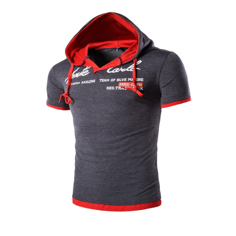 2018 패션 브랜드 남성 폴로 셔츠 단색 짧은 소매 슬림핏 셔츠 남성 후드 폴로 셔츠 캐주얼 폴로 크기 3XL YJ