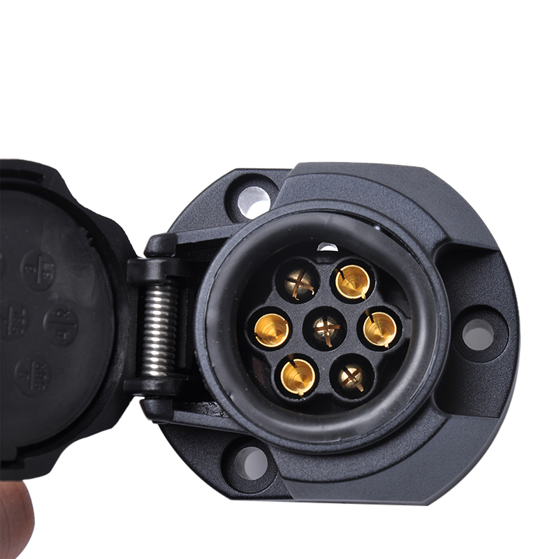 13 Pin евро караван разъем адаптер 12В прицеп Ван фаркоп буксировочный трос