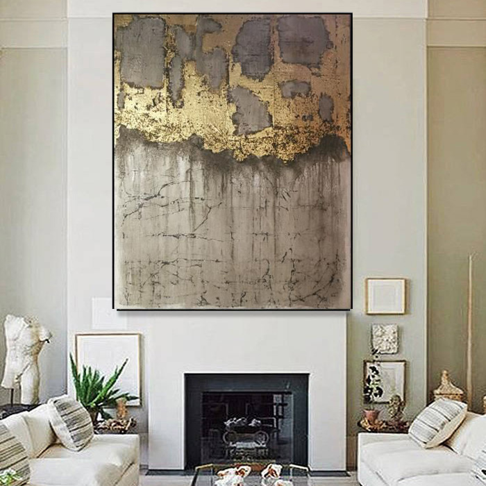 Large Decor Abstract oil painting Art Painting On Canvas abstract Palette knife wall art for home decor