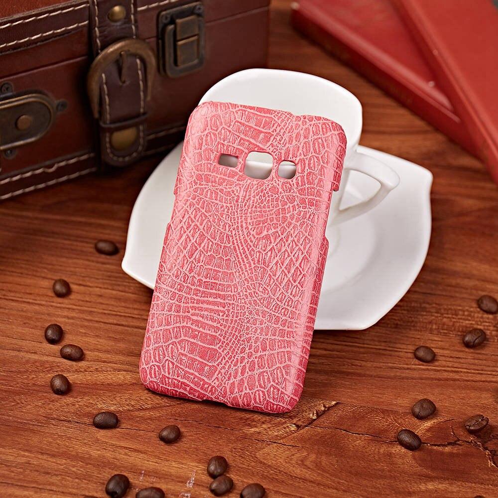 Крокодил Броня Чехол Для Samsung Galaxy J1 2016 SM-J120 Жесткий PC Защитная Крышка Телефон Coque Мешок J120F/DS J120F J120FN J120h/ds