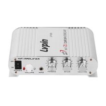 Mini Hi-Fi Stereo Car Amplifier Booster Auto Motor Boat Home Audio